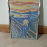 Tablou The Scream ( Tipatul ) - Pastel