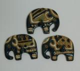 Trei elefanti din ceramica / pentru bucatarie