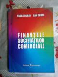 Finantele societatilor comerciale-Vasile Duran,Dan Duran
