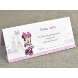 Card plic botez Minnie à Paris 5728