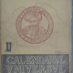 CALENDARUL UNIVERSUL 1944