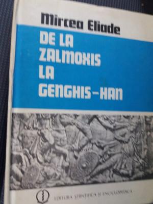DE LA ZALMOXIS LA GENGHIS HAN foto
