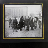 IASI- ALBUM FOTO CU DELEGATIE DIN IASI IN VIZITA LA FABRICA AUTO LUBLIN -ANII 70