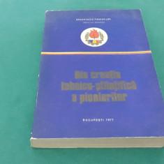 DIN CREAȚIA TEHNICO-ȘTIINȚIFICĂ A PIONIERILOR/ORGANIZAȚIA PIONIERILOR/ 1977