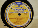 MOZART - EINE KLEINE NACHTMUSIC (POLYDOR/GERMANY) - DISC PATEFON/GRAMOFON/FB, Alte tipuri suport muzica, Deutsche Grammophon