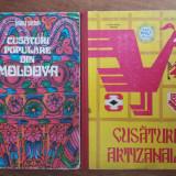 Cusaturi populare din Moldova + Cusaturi artizanale / R5P3S, Alta editura