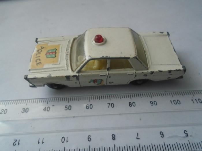 bnk jc Matchbox 55c Ford Galaxie Police Car