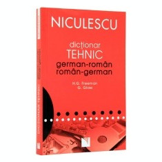 Dictionar tehnic german-roman/roman-german