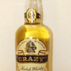 Whisky CRAZY scotch whisky, SELECT QUALITY LIGHI STYLE CL 75 GR 40 ANI 60/70
