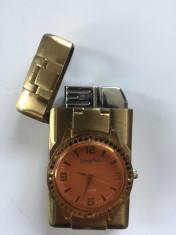 Bricheta anti-vant cu ceas foto