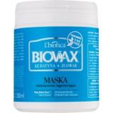 L'biotica Biovax Keratin & Silk masca pentru regenerare pentru par aspru., L'biotica