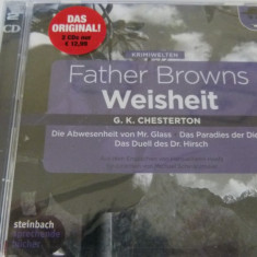 chesterton -father brown - 2 cd