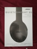 Casti Bose QuietComfort 35 - nou, sigilat, Casti Over Ear, Wireless