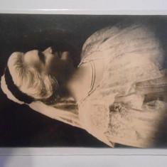 Carte postala, regina Elisabeta, circulata, Campulung