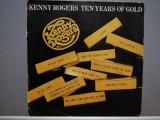 Kenny Rogers - Ten Years of Gold (1979/DUM DUM/India) - Vinil/Vinyl