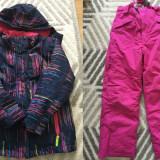Geaca + Pantaloni Ski / Iarna 7-8 ani Mountain Warehouse/Trespass CA NOI, Din imagine