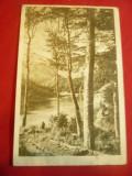 Ilustrata- Lacul Scropoasa - Judet Dambovita ,circ. 1964 ,supratipar 30 bani