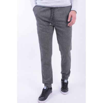Pantaloni Casual Sky Rebel Jari Gri foto