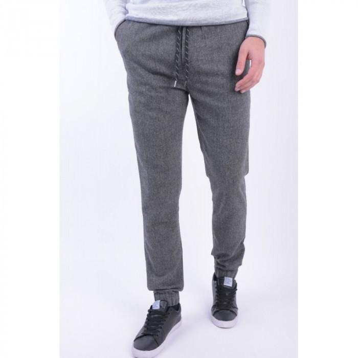 Pantaloni Casual Sky Rebel Jari Gri
