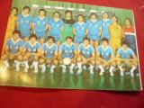 Ilustrata- Felicitare - Echipa de Handbal Steaua