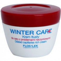 FlosLek Laboratorium Winter Care crema bogata de protectie pentru piele sensibila cu tendinte de inrosire