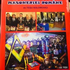 Marea Carte a Masoneriei Romane Tedu Solomovici