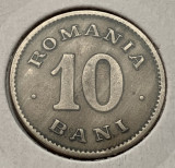 10 Bani 1900 Cu-Ni, Romania XF patinat, Cupru-Nichel