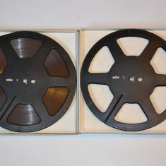 Banda magnetofon BRAUN 22cm set 2 benzi ptr.rostov,akai,revox