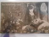 Carte postala, Romania, moartea regelui Ferdinand, 1927