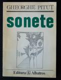 Gheorghe Pituț - Sonete (copertă de Florin Pucă; cu autograful Valentinei Pituț)