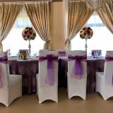 Inchirieri huse scaun lycra, fete de masa pentru evenimente Bellagio Events