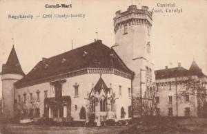 CAREI , SATU - MARE,CASTELUL CONTELE CAROLYI.