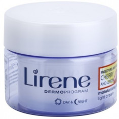 Lirene Moisture & Nourishment crema hidratanta racoritoare cu cirese si lamaie