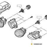 Proiector Stg Clio Dupa 06/2001 37149