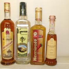 4 sticle vodka russa