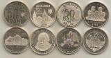 ROMANIA  4 buc COMEMORATIVE  50 BANI  2015 , 2016 , 2017 , 2018  din fisic - UNC, Alama