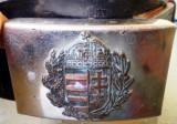 M.008 UNGARIA CENTURA PAFTA MILITARA PENTRU OFITERI