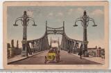 Bnk cp - Arad - Podul imparatului Traian - circulata 1925, Printata