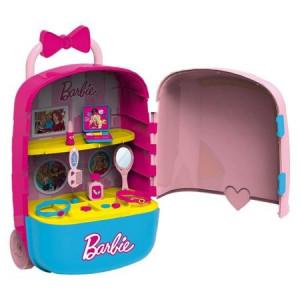 Studio de infrumusetare, LMI, cu troler Barbie pentru fetite, +3 ani