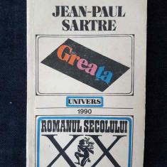 J-P. Sartre – Greata