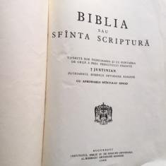 BIBLIA 1968, SUB INDRUMAREA SI BINECUVANTAREA PATRIARHULUI JUSTINIAN