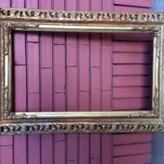 Rama veche din lemn 39/67 cm int, Dreptunghiular