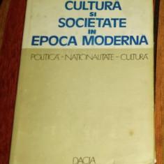 Cultura si societate in epoca moderna / colectie de articole