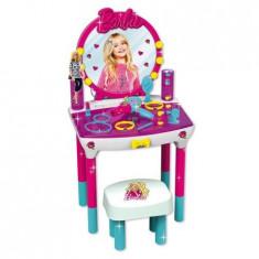Studio de infrumusetare cu 12 accesorii si scaunel inclus pentru fetite, +4 ani, 4-6 ani