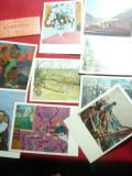 Set 16 Ilustrate- Pictura- Ermitage - Mari Pictori