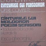 """Lautreamont - """"Cânturile lui Maldoror. Opere complete"""""""