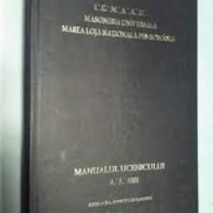 masoneria universala marea loja nationala din romania manual  ucenic ed.iii 6012