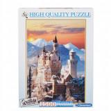 Puzzle- Neuschwanstein, Germany, 1500 piese, Clementoni