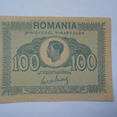 Bancnota 100 lei, Regele Mihai, 1945, neatinsa