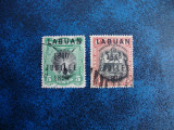 LABUAN 1896 SUPRATIPAR, Stampilat